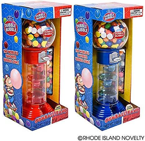 Colors May Vary 10.5 Inches Spiral Fun Gumball Bank Rhode Island Novelty ZYGUM10