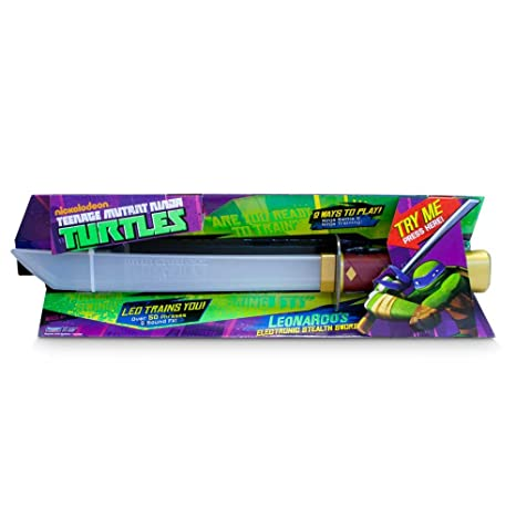 Amazon.com: TEENAGE MUTANT NINJA TURTLES LEONARDOS STEALTH ...