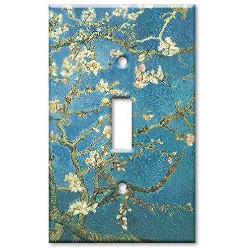 Art Plates (Art Plates - Van Gogh: Almond Blossoms Switch Plate - Single)