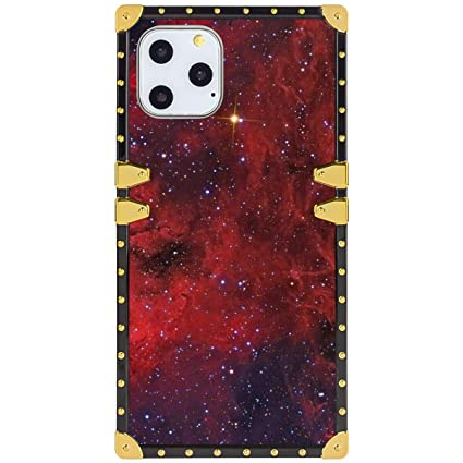 Amazon Com Apple Iphone 11 Pro Red Starry Wallpaper Square