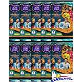 2018 Panini Adrenalyn XL Road to FIFA World Cup Russia Collection with 10 Factory Sealed Booster Packs with 60 Cards! Look for Superstars Including Ronaldo, Lionel Messi, Neymar Jr & More! WOWZZER!