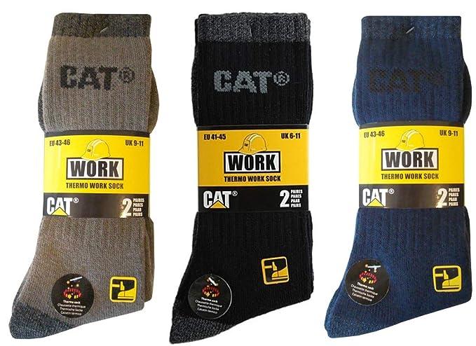 Cat Caterpillar Hombre Calcetines Térmicos De Trabajo Calcetines en 41 – 45, disponible 4|