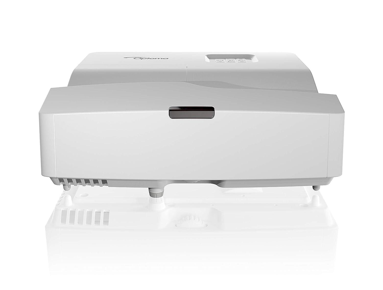 Optoma HD31UST DLP-Projektor (1080p, Kurzdistanz, 3400 Lumen, 28.000:1 Kontrast, 2xHDMI, MHL, VGA) Silber OPTOMA TECHNOLOGY