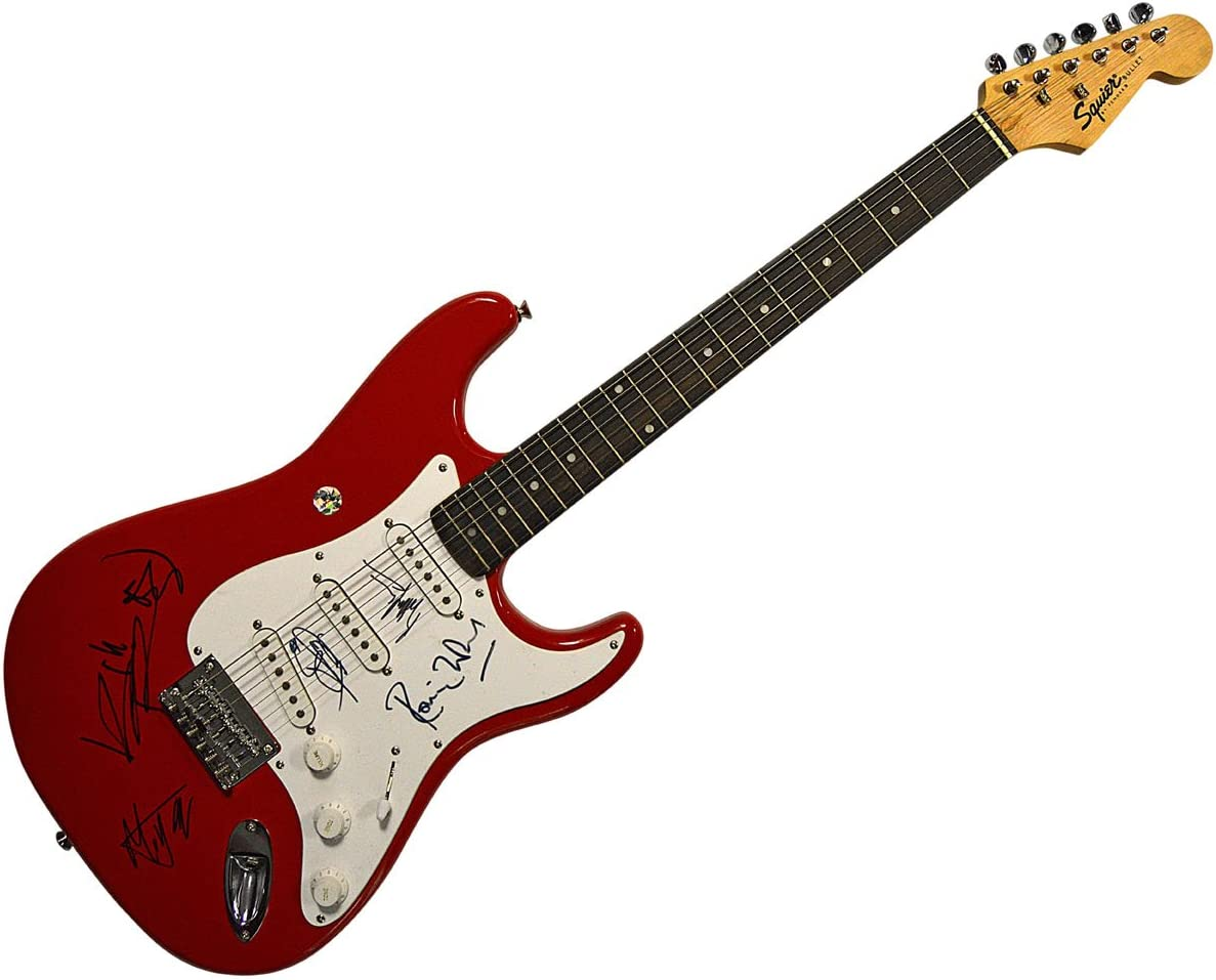 The Rolling Stones X5 - Guitarra autografiada Mick Jagger Plus ...