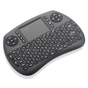 Zenoplige Mini Teclado inalámbrico Tastiera 2,4 GHz Diseño Español(con Ñ) Ratón