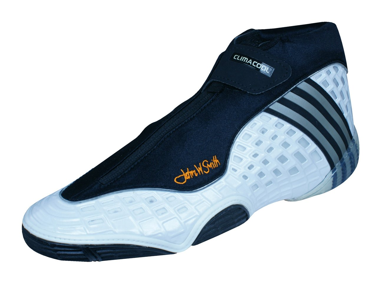 adidas Mat Wizard III JS Mens Wrestling Shoes / Sneakers-Black-12.5