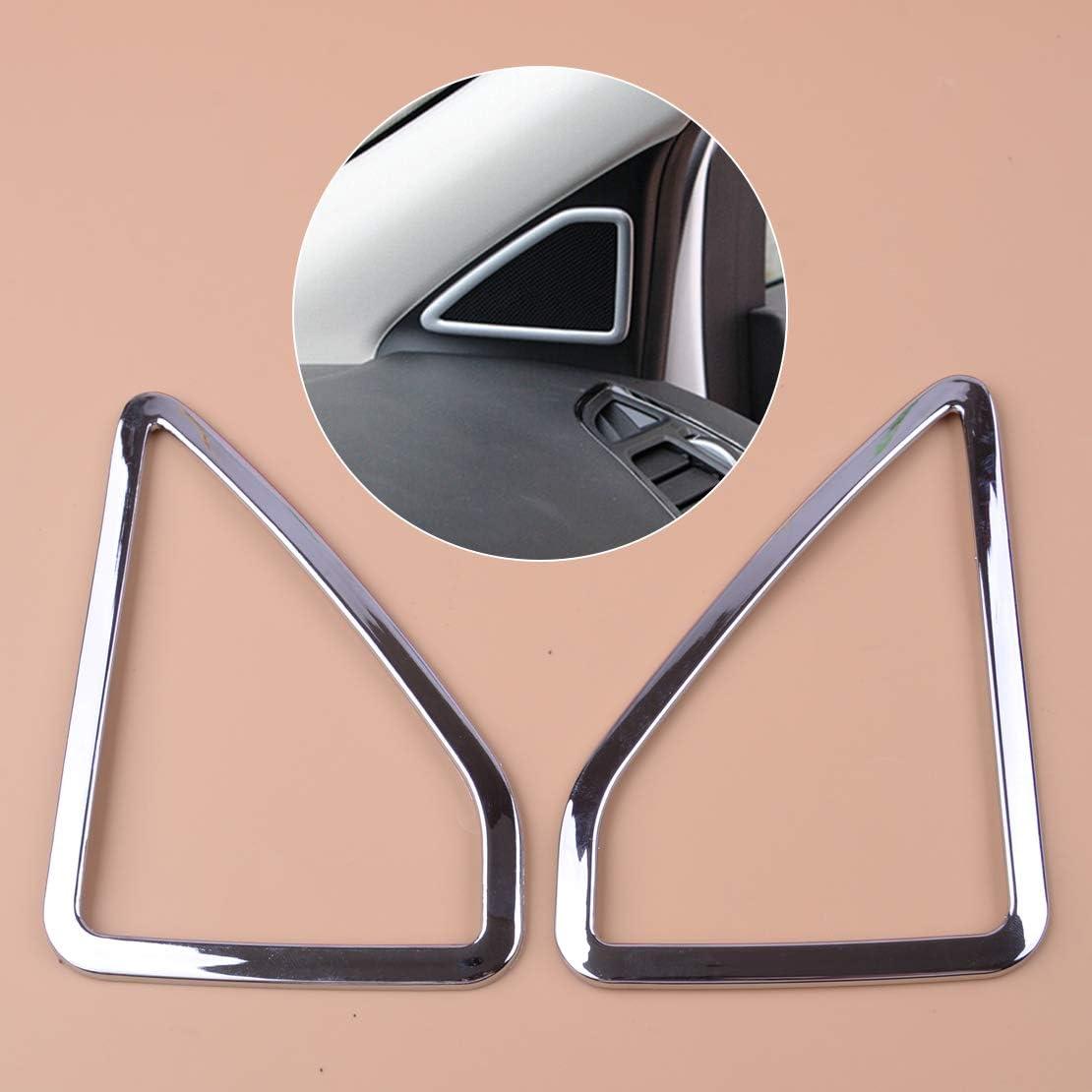 Eastar innere A-S/äulent/ür Stereo Audia Pillar Lautsprecherabdeckung Verkleidung L/ünette f/ür Ford Kuga 2013-2018