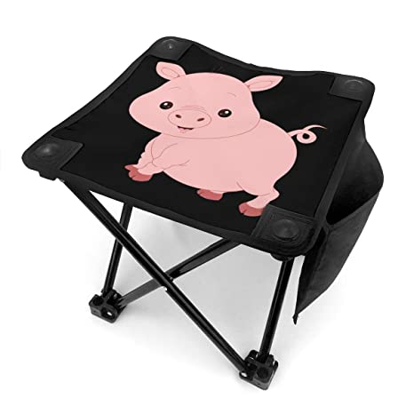 Fine Amazon Com Rong C Camping Stool Pig Faces Fishing Travel Pabps2019 Chair Design Images Pabps2019Com