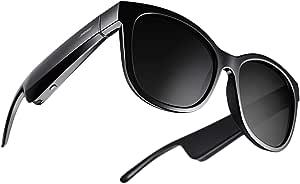 Bose Frames Soprano - Gafas de sol Bluetooth con Audio, de ojo de gato y polarizadas, Negro