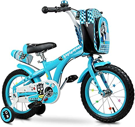 KidsBikes Lijianfeng Bicicletas Azules Bicicletas para niños ...
