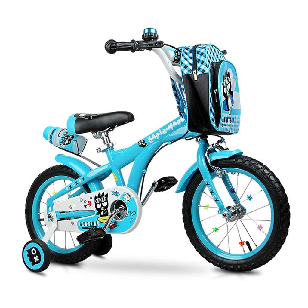 少年の自転車写真少年の自転車子供の自転車青い自転車写真青い自転車アウトドアスポーツ自転車2-4-6歳児用自転車最高の贈り物 (Color : Blue, Size : 14inches) 14inches Blue B07P2JP5V7