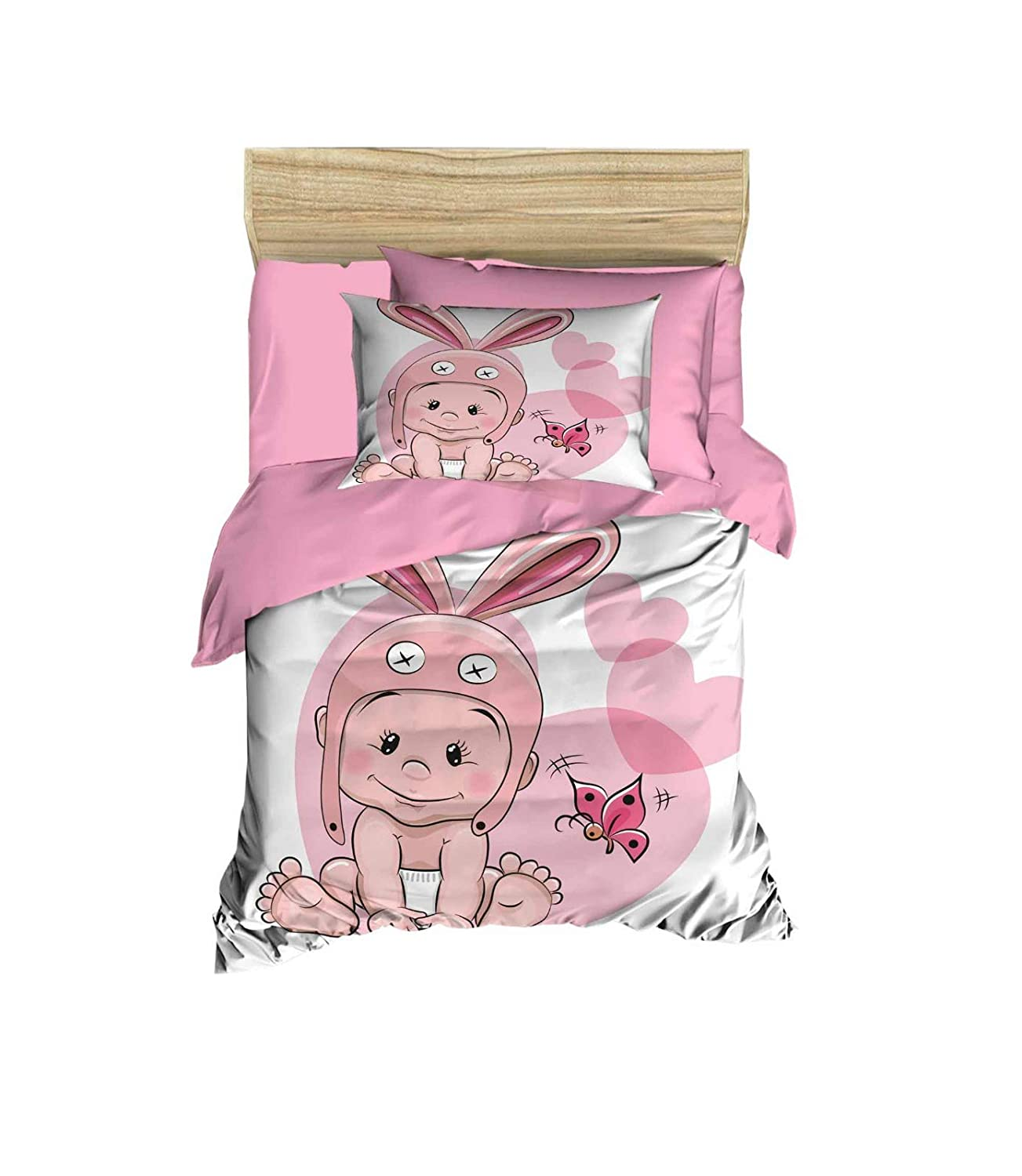 Pillowcase Jungle Babies Child Toddler Cot Size 100/% Cotton