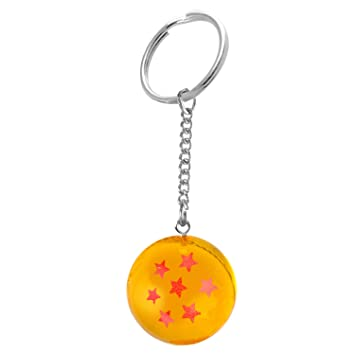 Mini Transparente Naranja 7 Estrellas Patrón Bola de Juguete ...