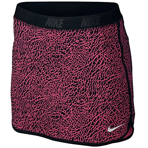 Nike Flip Print Golf Skort 2016 Womens Dynamic Pink/Black/Metallic Silver Small