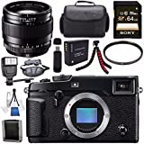 Fujifilm X-Pro2 Mirrorless Digital Camera (Body Only) 16488618 + Fujifilm XF 23mm f/1.4 R Lens 16405575 + NP-W126 Lithium Ion Battery + Sony 64GB SDXC Card + Carrying Case + Tripod + Flash Bundle