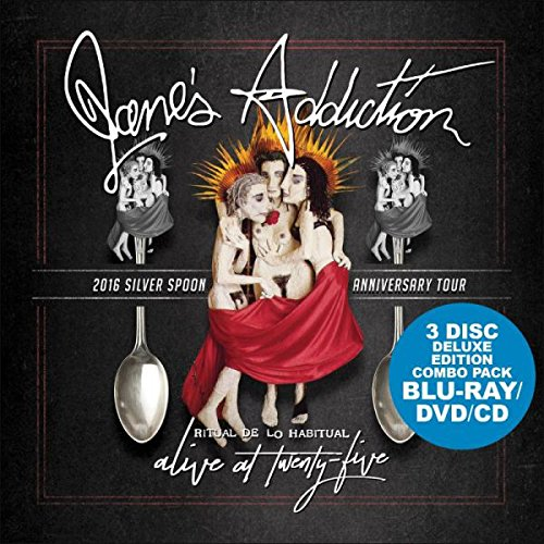 Blu-ray : Jane\'s Addiction - Alive At Twenty-five (With CD, With DVD, 3 Disc)