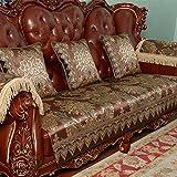 Sofa cushions,summer fabric anti-skid mat,four seasons living room sofa cushion cover-C 90x70cm(35x28inch)