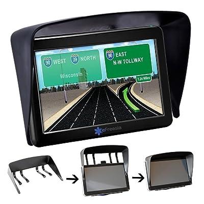 "YueYueZou Universal 7"" GPS Navigation Anti Glare Cover Sun Shade Visor: GPS & Navigation"