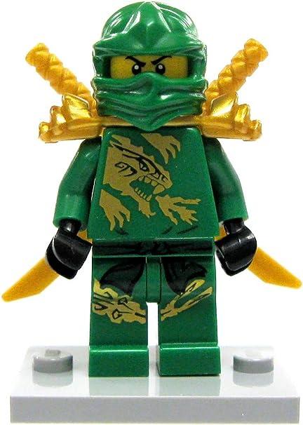 Amazon.com: LEGO Ninjago Lloyd Minifigure [Verde & Oro Ninja ...