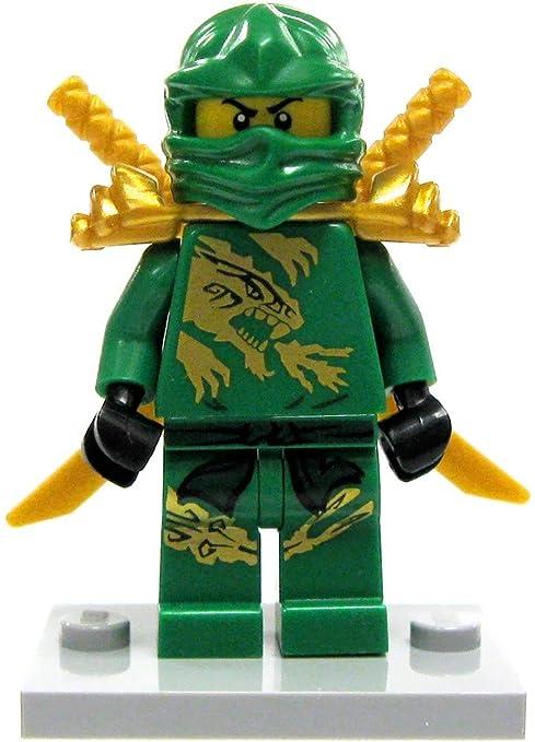 Lego Ninjago Lloyd In Dragon Suit Minifigure Green Ninja Loose