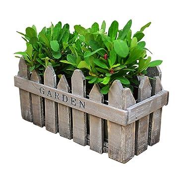 Amazon Com Revolumini Herb Planter Boxes Wood Porch Deck Railing