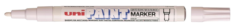 Marcador Marcador Marcador Uni-Ball PX-21 Uni Paint Marker color Blanco (12 unidades) a91c3f
