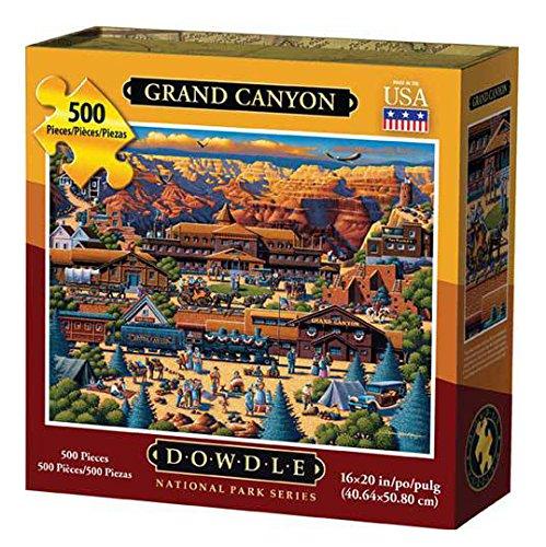 Dowdle Folk Art Grand Canyon Jigsaw Puzzle BabyKidsBargains 00103
