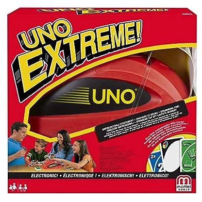 Mattel Games V9364 - UNO Extreme Kartenspiel, geeignet für 2 - 10 Spieler, Spieldauer ca. 15 Minuten, Gesellschaftsspiele und Kartenspiele ab 7 Jahren 3