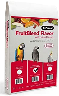 product image for Zupreem Fruit Blend Bird Food With Natural Fruit Flavors, Parrots And Conures, 17.5 Pound Bag