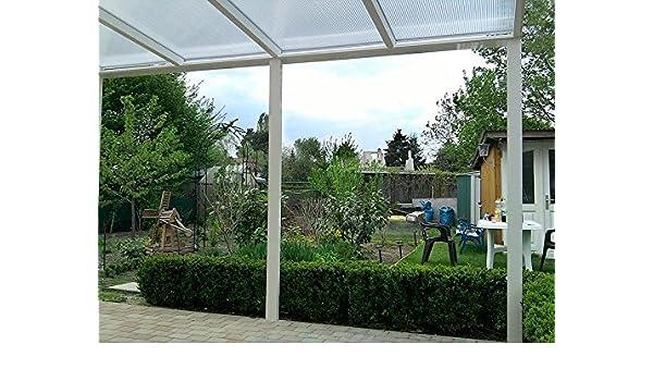 Aluminio prikker-überdachungen 500 x 300 cm ajuste de inclinación ...