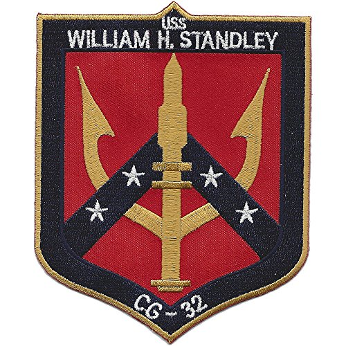 - USS William H. Standley CG-32 Guided Missile Cruiser Ship Patch