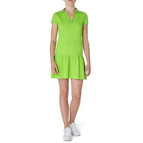 SPORTKIND - Short de niña y Polo Vestido con Volantes para Tenis ...