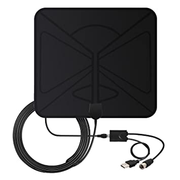 Amazon.com: TV Antenna Indoor Digital Signals- Coolmade 50 Miles ...