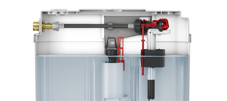 Válvula de flotador F 10 de Tece para depósitos de cisterna empotrables o externos: Amazon.es: Bricolaje y herramientas