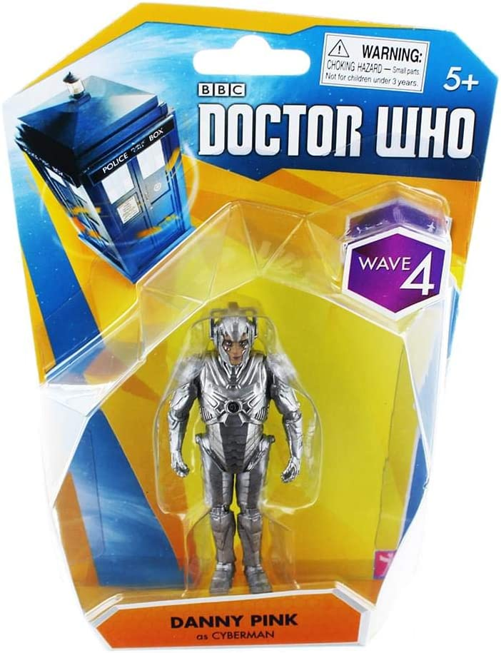 Doctor Who CYBERMAN and Blaster Classic Action Figure Dr Who Toy
