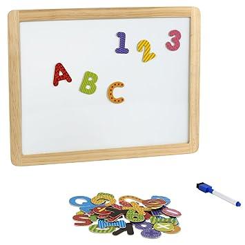 ColorBaby - Pizarra con letras magnéticas, 43 piezas (42744)