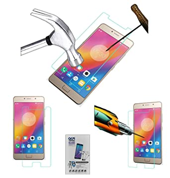 Acm Tempered Glass Screenguard for Lenovo P2 Screen Guard Scratch Protector Screen guards