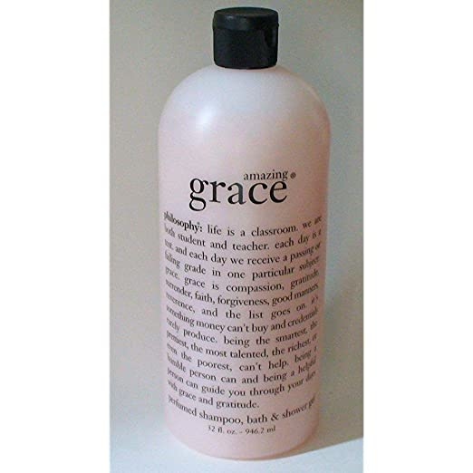 Philosophy Amazing Grace 3-in-1 Shower Gel , Bubble Bath, Shampoo 32 Oz