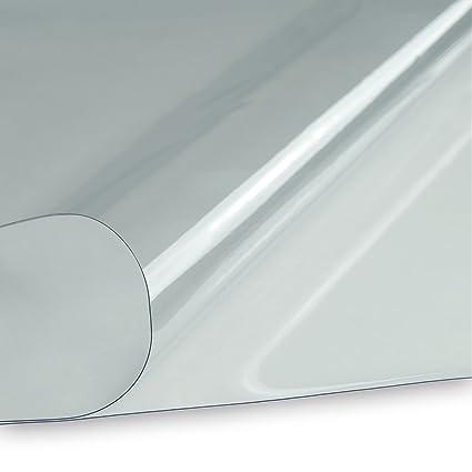 PVC Klarsichtfolie 0,5 mm 1,83 m Breit Meterware