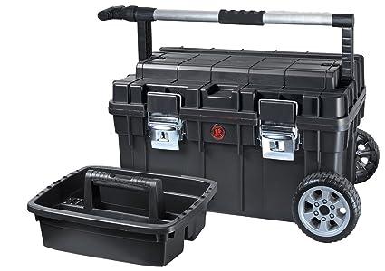 Maletín para herramientas con ruedas de Patrol Group SKRWT1 HDCZAPG001, mango telescópico, capacidad de