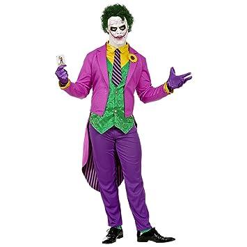 NET TOYS Genial Disfraz de Jocker para Hombre | Morado-Verde ...
