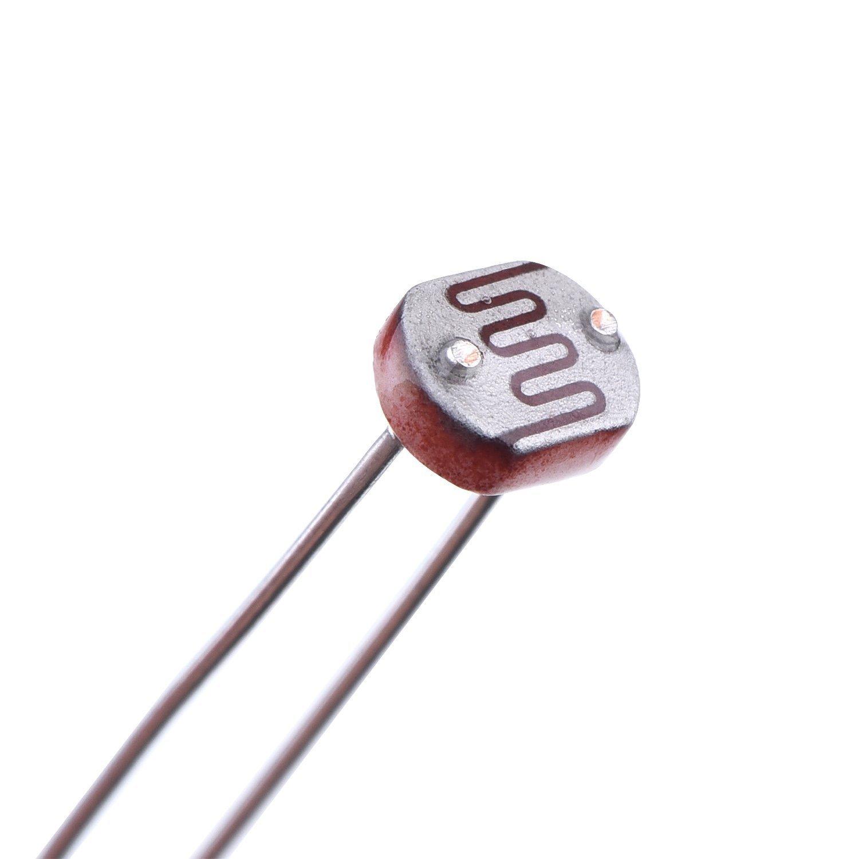 Electrobot 30 Pieces Ldr Photoresistor Photo Light Sensitive Dependent Resistors Resistor 5 Mm Gm5539 5539 Industrial Scientific