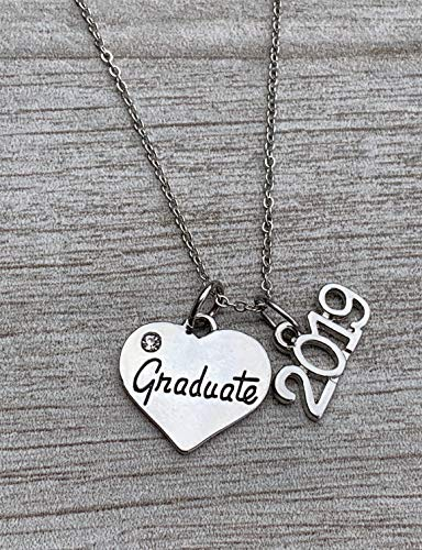 Infinity Collection 2019 Graduation Necklace, Graduation Jewelry, Graduation Gift, for Graduates, Class of 2019]()