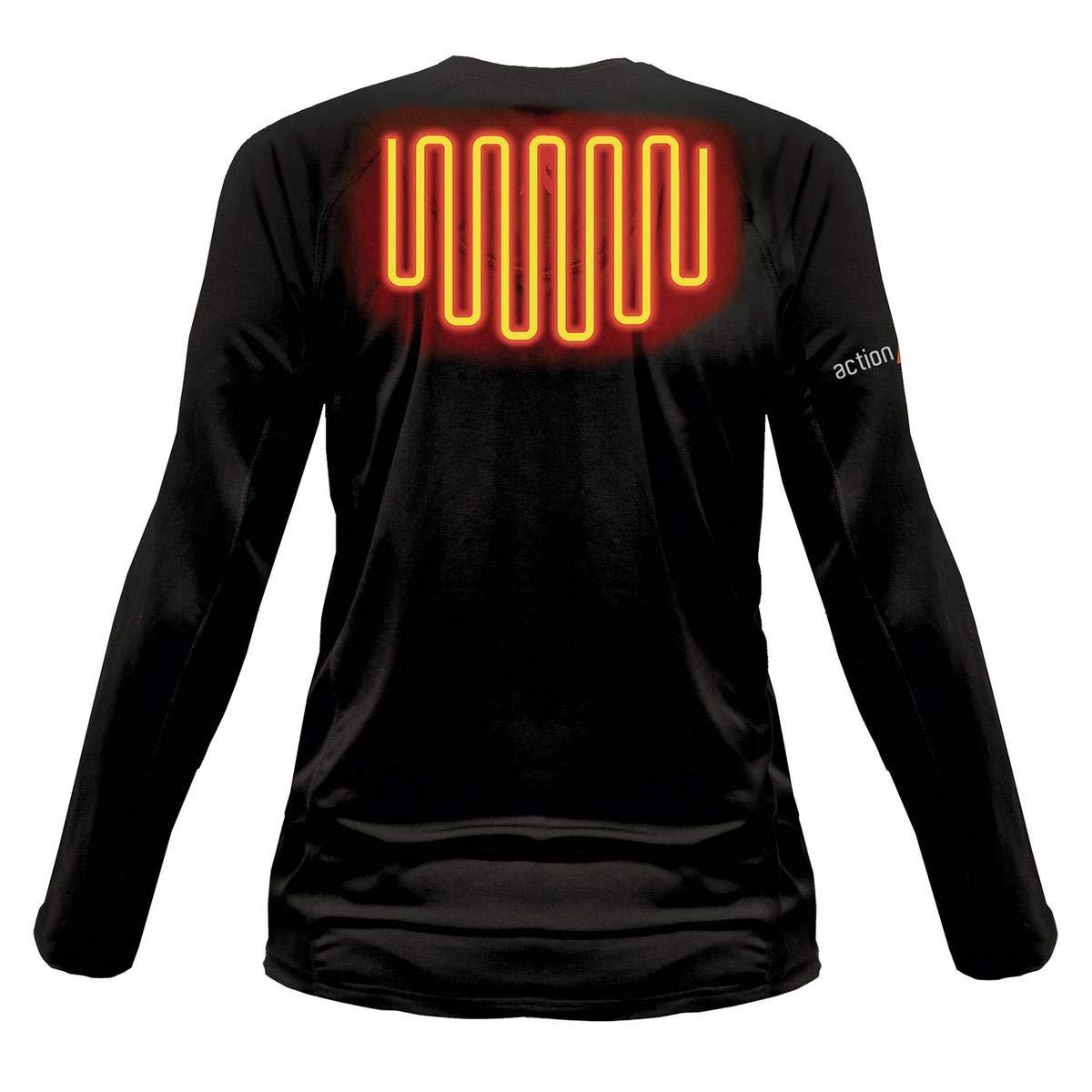 ActionHeat 5V Heated Base Layer Shirt Womens