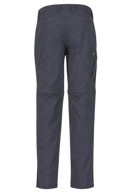 Zip Off Marmot Transcend Convertible Pant Pantalones de Trekking Largos con Perneras extra/íbles al Aire Libre Hombre