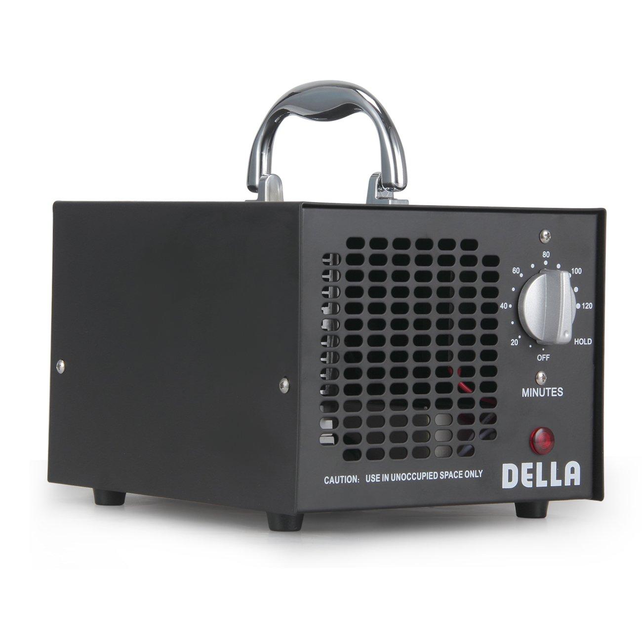 人気が高い  Della業務用オゾン発生器 3,500mg 空気清浄機 O3 防臭 O3 3,500mg 減菌 ブラック 空気清浄機 048-GM-48251 ブラック B01LG04BGQ, ナノズ:5ab6a30b --- cygne.mdxdemo.com