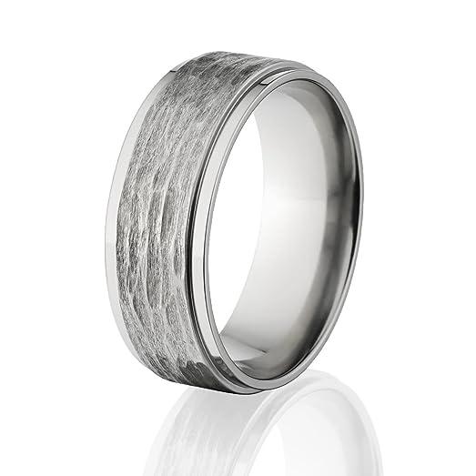 USA Custom Made Titanium Ring Premium Titanium Wedding BandAmazoncom