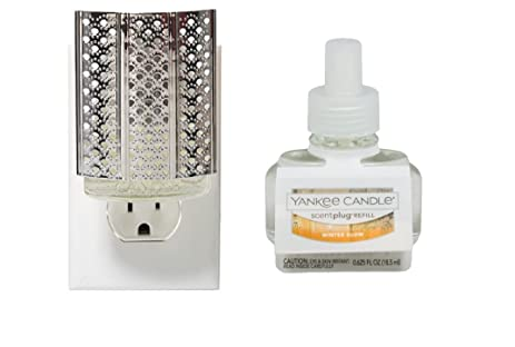 Amazon Yankee Candle Moroccan Lantern Silver Night Light