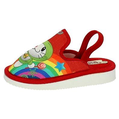 VULCA-BICHA 4102 Zapatillas DE Lona NIÑO Zapatillas CASA Rojo 24: Amazon.es: Zapatos y complementos