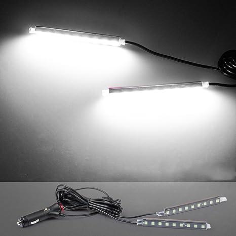 LNIMIKIY Tira de Luces LED para Interior de Coche, lámpara ...